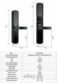 Serrure De Porte Z-ondes, Verrouillage Sans Clé Intelligente Système Domotique Intercom