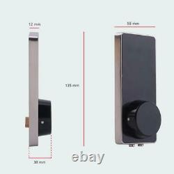 Serrure De Verrouillage De Porte Numérique Intelligente Bluetooth Keyless Touch Password Phone App Security Lock