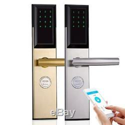 Serrure Électronique Gratuite Dhlwifi, Code De Clavier Numérique Intelligent Bluetooth Sans Clé