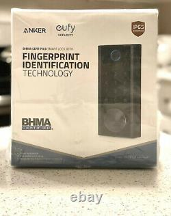 Serrure Intelligente De Sécurité Eufy Avec Scanner D'empreintes Digitales Tactiles, Serrure De Porte D'entrée Sans Clé