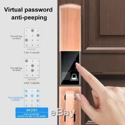 Serrure Numérique Intelligent Électronique D'empreintes Digitales Tactile Passe Sans Clé Clavier Nouveau