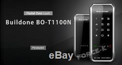 Serrure Sans Clé Buildone Bo-t1100n Mot De Passe D'entrée De Sécurité Numérique Intelligent