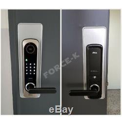 Serrure Sans Clé Milre Mi-6400s Porte D'entrée Numérique Intelligente Avec Code De Sécurité + Rfid