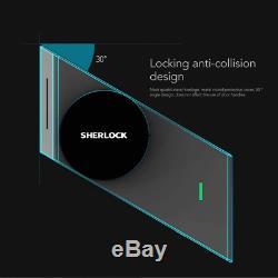 Sherlock S2 Intelligent De Verrouillage De Porte Sans Clé Accueil Verrouillage D'empreintes Digitales + Mot De Passe Travail Electr