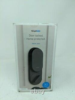 Simplisafe Smart Lock + Pin Pad Noir