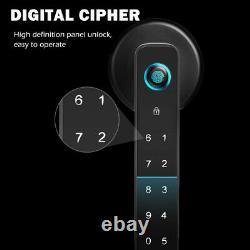 Smart 4 In 1 Keyless Security Electronic Déverrouillage Serrure De Porte Fit App Code Maison