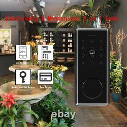 Smart Bt-door Lock Keyless Mot De Passe Accueil App Carte Amazon Alexa Google Home Bro