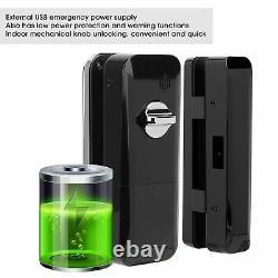Smart Bt-door Lock Keyless Sécurité Mot De Passe App Amazon Numérique Alexa Antivol