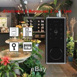 Smart Bt-porte De Verrouillage Sans Clé Mot De Passe Accueil App Carte Google Accueil Amazon Alexa Téléphone