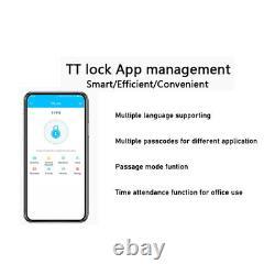 Smart Bt-porte De Verrouillage Sans Clé Mot De Passe Accueil Carte App Amazon Alexa Accueil Google Bro
