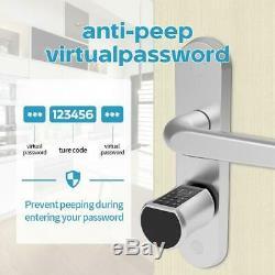 Smart Clé Avec Ttlock App Sans Clé Électronique D'empreintes Digitales De Verrouillage De Porte