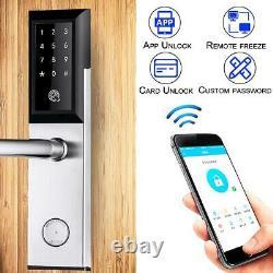 Smart Code Bluetooth Verrouillage Sans Clé De Porte Numérique Tactile Mot De Passe Entrée App Sécurité