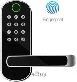 Smart D'empreintes Digitales De Verrouillage De Porte Bluetooth Déverrouillage D'entrée Sans Clé Pour Appartement Bureau