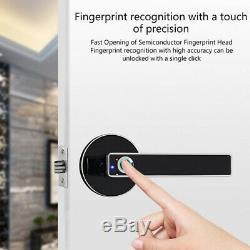 Smart D'empreintes Digitales De Verrouillage De Porte De Sécurité Sans Clé Biométrique Écran Tactile Usb Numérique