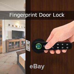 Smart D'empreintes Digitales De Verrouillage De Porte Sans Clé Biométrique Mot De Passe De Sécurité Pour Home Office