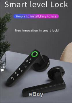 Smart D'empreintes Digitales De Verrouillage De Porte Sans Clé Unlock Mot De Passe Clavier Pour Une Utilisation En Intérieur Bureau