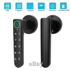 Smart D'empreintes Digitales De Verrouillage Sans Clé Bluetooth App Mot De Passe De Verrouillage De Porte Sécurité À La Maison