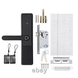 Smart Digital Electronic Door Lock Empreinte De Doigt Smart Touch Mot De Passe Keyless Lock