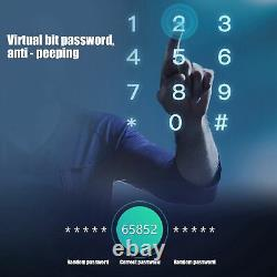 Smart Digital Electronic Door Lock Empreinte Touch Mot De Passe Keyless Antivol