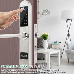 Smart Digital Electronic Door Lock Fingerprint Smart Touch Mot De Passe Keyless Lock