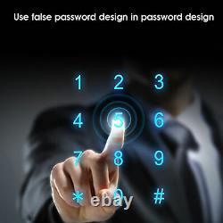 Smart Digital Fingerprint Verrouillage De Porte Antivol Touch Mot De Passe Keyless Clavier