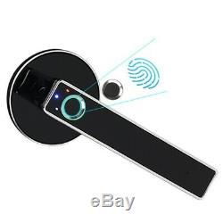 Smart Door Lock Accueil Sans Clé Smart Lock Biométrique D'empreintes Digitales Électronique Lo N4j1