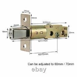 Smart Door Lock Bluetooth Deadbolt Digital Electronic Keyless Entry Touch Keyboa