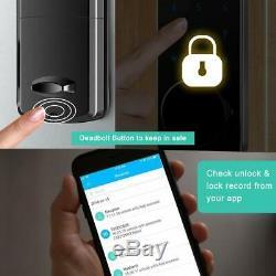 Smart Door Lock Électronique Bluetooth Verrouillage Automatique Du Clavier Les Serrures De Portes D'entrée Sans Clé