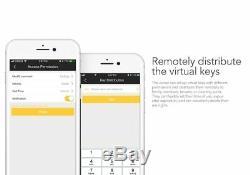 Smart Door Lock Empreintes Digitales Mot De Passe De Sécurité Bluetooth Contrôlée Keylesslock