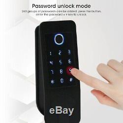 Smart Door Lock Kit D'empreintes Digitales Passoword Bluetooth4.0 ID Card Reader Étanche