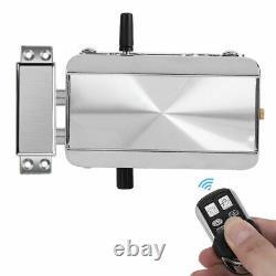 Smart Electric Security Door Lock Bluetooth App Télécommande Déverrouiller Keyless Ss