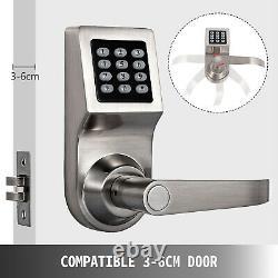 Smart Electronic Numérique Porte Le Code De Verrouillage Sans Clé Clavier De Sécurité Carte D'entrée M1