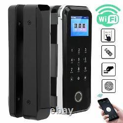 Smart Fingerprint Door Lock Digital Wifi Remote Phone App Key Password Cards