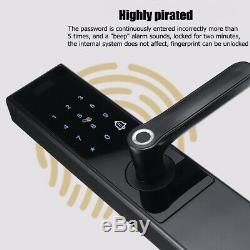 Smart Home Sans Clé De Verrouillage Intelligent D'empreintes Digitales De Verrouillage De Porte Yyj085 Mot De Passe Travail