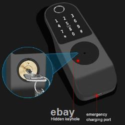 Smart Keyless Door Lock Mechanical Digital Security Entry Keypad Inoxydable