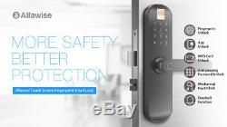 Smart Keyscreen Fingerprint Smart Lock De Porte D'entrée Électronique Sans Clé