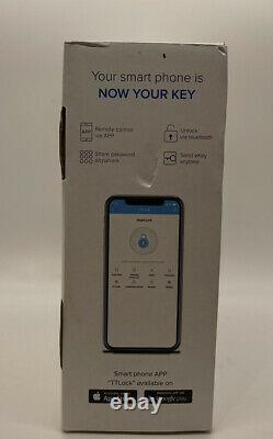 Smart Lock, Catchface Empreinte De Porte Verrouillage De Porte Sans Clé Verrouillage De Porte Wifi Avant