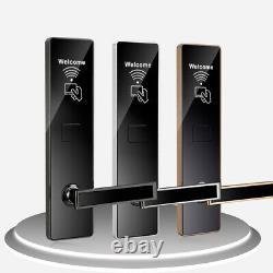 Smart Lock Code Électronique Porte Carte Clavier Digital Keyless Security Hotel