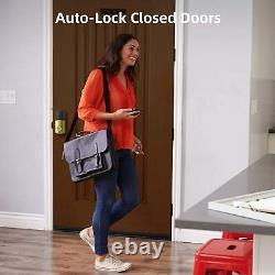Smart Lock Touch, Serrures De Porte D'entrée Sans Clé, Hornbill Bluetooth Electronic Deadbolt