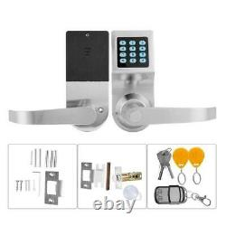 Smart Password Lock Keyless Entry Door Lock Deadbolt Security Waterproof Smart