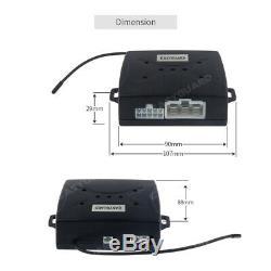 Smart Pke Sans Clé Allez Système D'alarme De Voiture Démarreur À Distance Appuyez Sur Le Bouton De Démarrage Verrouillage Automatique