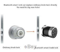 Smart Sans Clé De Porte Carte De Verrouillage IC Phone App Usb Télédéverrouillage Charge Sas D'entrée