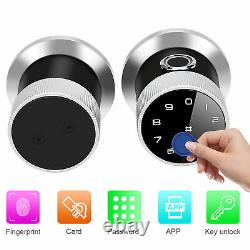 Smart Sans Clé De Verrouillage De Porte De Sécurité Électronique Mot De Passe Bluetooth App D'empreintes Digitales