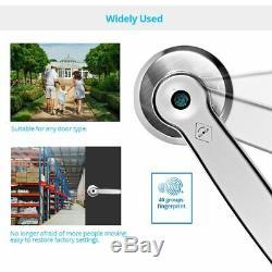 Smart Security D'empreintes Digitales Électronique Sans Clé De Verrouillage De Porte Avec La Clé De Déverrouillage