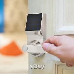 Smart Touch Clavier De Mot De Passe De L'écran Verrouillage À Distance Sans Clé Électronique De Verrouillage De Porte