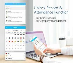 Smart Verrouillage De Porte D'empreintes Digitales Code Électronique Sans Clé Clavier De Sécurité Accueil Entrée