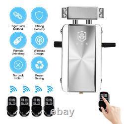 Smart Wireless Door Lock Kit Télécommande Sans Clé Accueil Hôtel Appartement
