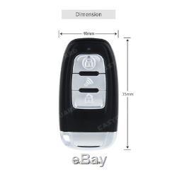 Système D'alarme De Voiture Intelligente Clé Pke De Démarrage À Distance Pousser Démarreur Verrouillage Automatique D'entrée Sans Clé