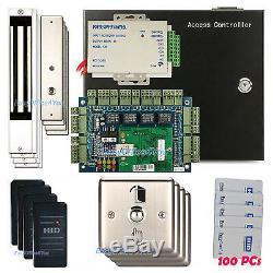 Système De Verrouillage Magnétique Sans Clé 350lbs De Contrôle D'accès Du Lecteur Prox 6005b Prox Reader