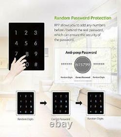 Tl100 Fingerprint Lock Keyless Digital Smart Door Locks + 5pcs De Rfid